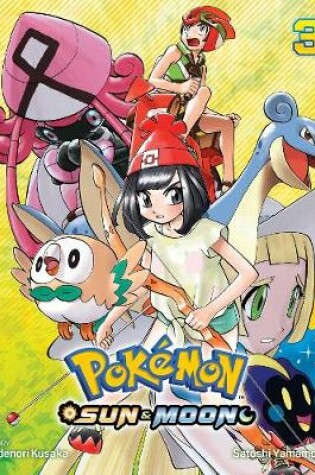 Cover of Pokemon: Sun & Moon, Vol. 3