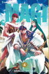 Book cover for Magi: The Labyrinth of Magic, Vol. 4