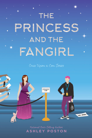 Cover of The Princess and the Fangirl