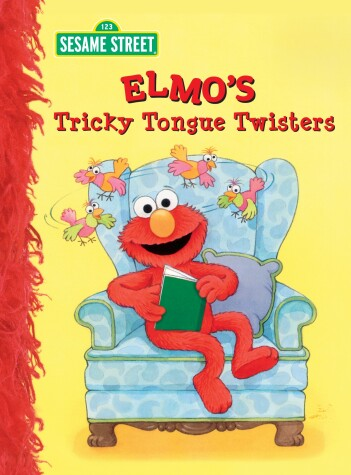 Cover of Elmo's Tricky Tongue Twisters (Sesame Street)