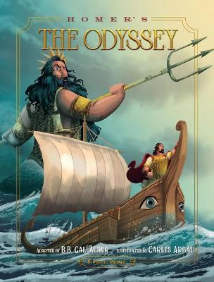 Book cover for Homer's the Odyssey