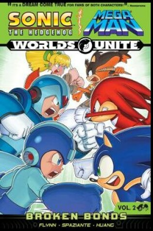 Cover of Sonic / Mega Man: Worlds Unite 2