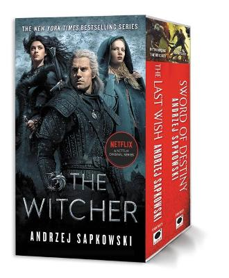 Cover of The Witcher Stories Boxed Set: The Last Wish, Sword of Destiny
