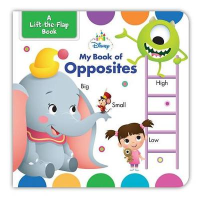 Book cover for Disney Baby My Book of Opposites