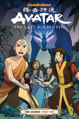 Cover of Avatar: The Last Airbender#the Search Part 2