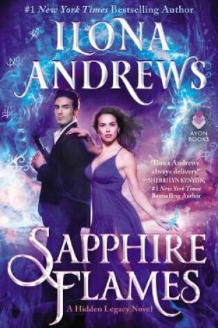 Cover of Sapphire Flames