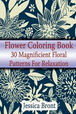 Cover of Flower Coloring Book