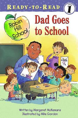 Cover of Dad Goes to School