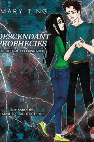 Cover of Descendant Prophecies Official Coloring Book