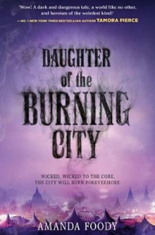 Cover of Daughter Of The Burning City