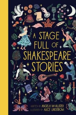 Cover of A Stage Full of Shakespeare Stories
