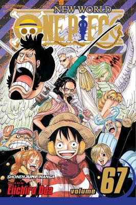 Cover of One Piece, Vol. 67