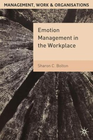 Cover of Emotion Management in the Workplace