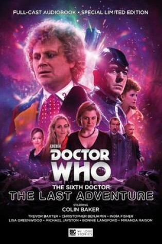 Cover of The Sixth Doctor: The Last Adventure