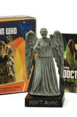 Cover of Doctor Who: Light-Up Weeping Angel and Illustrated Book