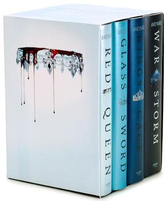 Cover of Red Queen 4-Book Hardcover Box Set