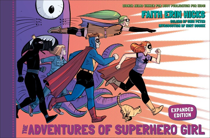 Book cover for Adventures Of Superhero Girl, The