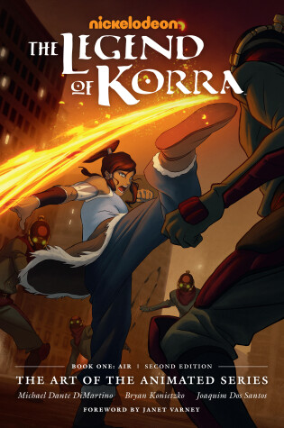 Cover of Legend Of Korra, The: The Art Of The Animated Series Book One: Air (second Edition)