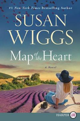 Cover of Map of the Heart [Large Print]