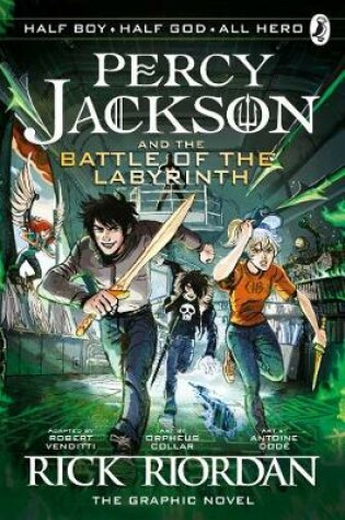 Cover of The Battle of the Labyrinth: The Graphic Novel
