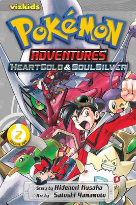 Cover of Pokemon Adventures: HeartGold and SoulSilver, Vol. 2
