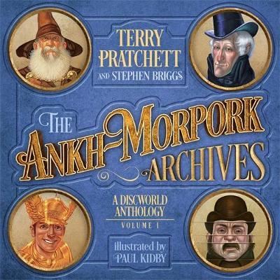 Book cover for The Ankh-Morpork Archives: Volume One