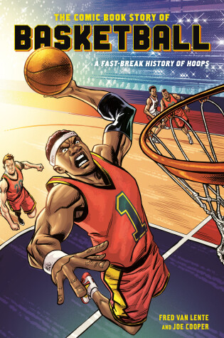Cover of Comic Book Story of Basketball