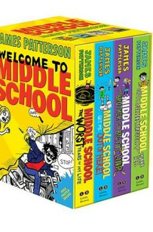 Cover of Middle School Boxed Set