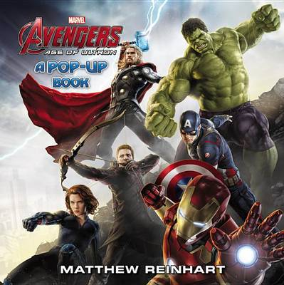 Cover of Marvel's Avengers: Age of Ultron: A Pop-Up Book