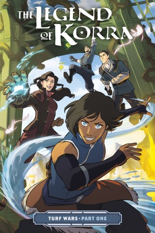 Book cover for The Legend of Korra: Turf Wars Part One