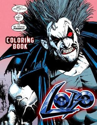 Cover of Lobo Coloring Book