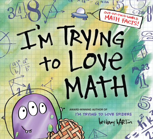 Book cover for I'm Trying to Love Math