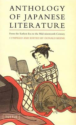 Cover of Anthology of Japanese Literature