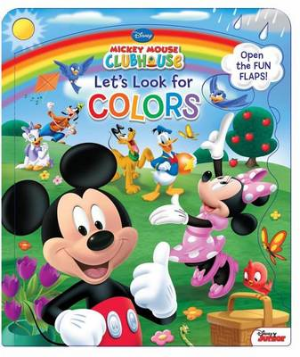 Book cover for Disney Mickey Mouse Clubhouse Let's Look for Colors