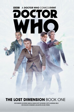 Cover of Doctor Who: The Lost Dimension Book 1