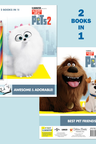 Cover of Awesome & Adorable! (The Secret Life of Pets 2)/Best Pet Friends (The Secret Life of Pets)