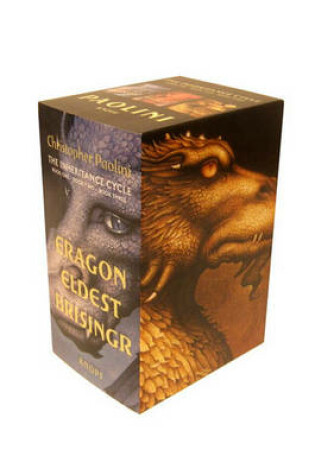 Cover of Inheritance Cycle 3-Book Trade Paperback Boxed Set (Eragon, Eldest, Brisingr)