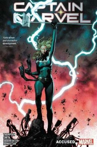 Cover of Captain Marvel Vol. 4
