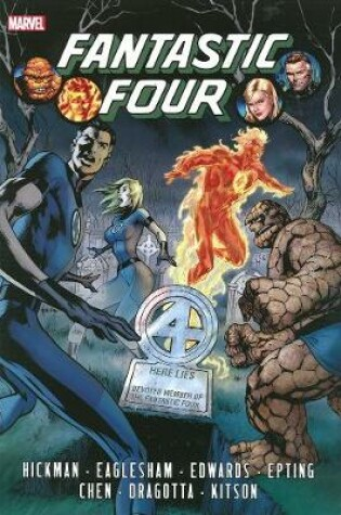 Cover of Fantastic Four By Jonathan Hickman Omnibus Volume 1