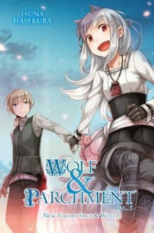 Cover of Wolf & Parchment: New Theory Spice & Wolf, Vol. 5 (light novel)