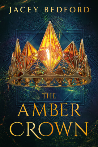Book cover for The Amber Crown