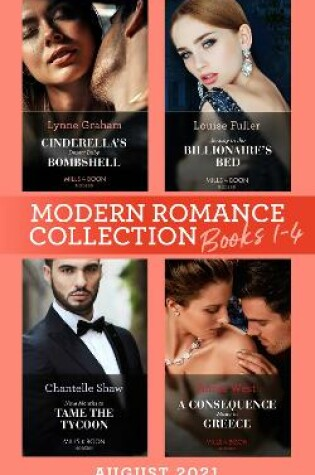 Cover of Modern Romance August 2021 Books 1-4