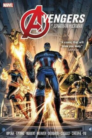 Cover of Avengers By Jonathan Hickman Omnibus Vol. 1