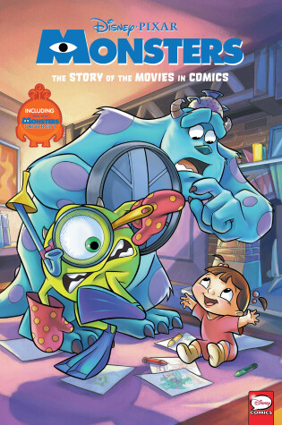 Cover of Disney/PIXAR Monsters Inc. and Monsters University: The Story of the Movies in Comics