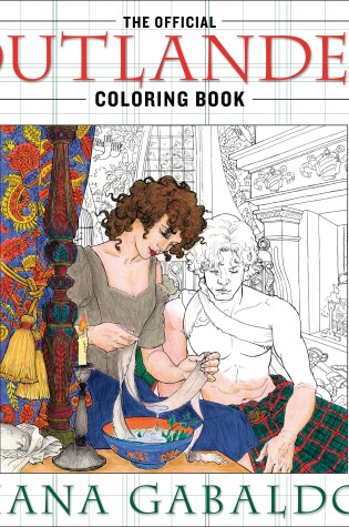 Cover of The Official Outlander Coloring Book