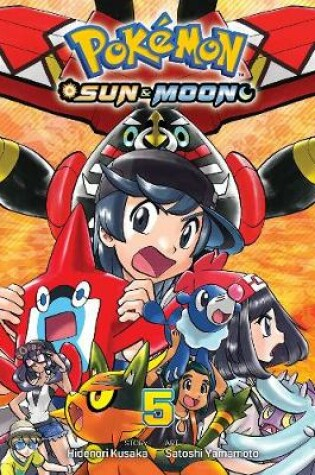 Cover of Pokemon: Sun & Moon, Vol. 5