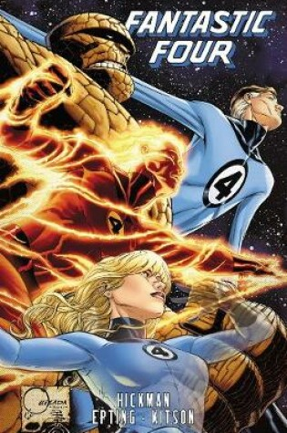 Cover of Fantastic Four By Jonathan Hickman - Volume 5