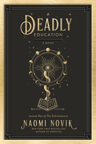 Book cover for A Deadly Education