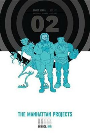 Cover of The Manhattan Projects Deluxe Edition Book 2