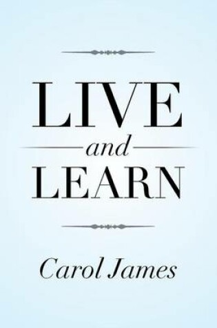 Cover of Live and Learn
